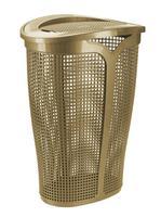 Plastový koš na špinavé prádlo TONTARELLI Ingrid 45l zlatý