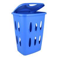 Plastový koš na špinavé prádlo TONTARELLI 45l modrá