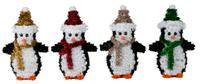 Vánoční dekorace TUČNÁK 17cm