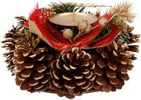 Vánoční svícen 15cm