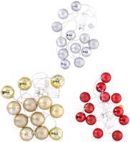 Vánoční světelný řetěz 12LED koule