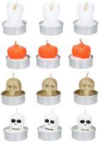 Čajová svíčka HALLOWEEN 3ks MIX druhů