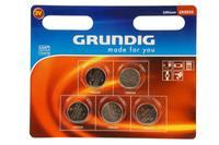 Baterie knoflíkové, Grundig CR2032, 5 ks
