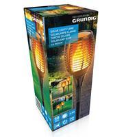 Venkovní solární LED světlo 59cm ohňový efekt