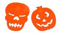 Girlanda Halloween 3m, papír, assort