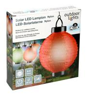 Venkovní solární LED lampion 20cm
