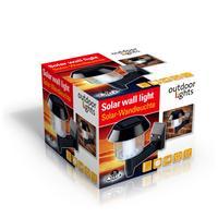 Nástěnné venkovní solární světlo LED