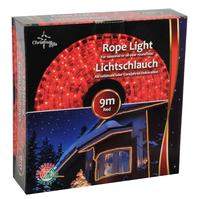 Řetěz světelný, vánoční, 9m, červený