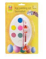 Kreslící set na vajíčka - 6 barev