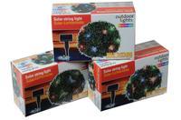 Solární světelný řetěz 20 LED