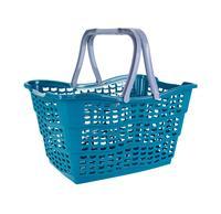 Plastový nákupní košík KEEEPER 15l