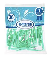 Kolíčky plastové na prádlo Tontarelli  Minimollet 36 ks, assort