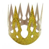 Papírová party koruna zlatá