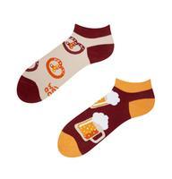 Kotníkové veselé ponožky DEDOLES pivo 35-38