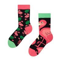 Dětské veselé ponožky DEDOLES plameňáci 31-34