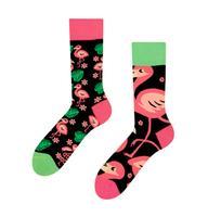 Veselé ponožky DEDOLES plameňáci 43-46