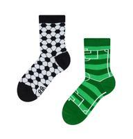 Dětské veselé ponožky DEDOLES fotbal  23-26