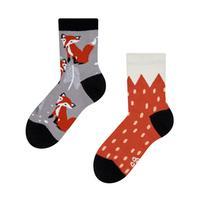 Dětské veselé ponožky DEDOLES liška 27-30