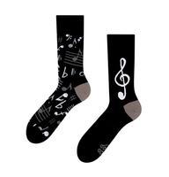 Veselé ponožky DEDOLES hudba 35-38