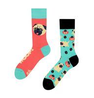 Veselé ponožky DEDOLES mopsík 35-38