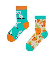 Dětské veselé ponožky DEDOLES zajíc a mrkev 31-34