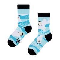 Dětské veselé ponožky DEDOLES ledový medvěd 27-30