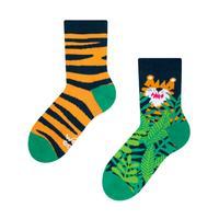 Dětské veselé ponožky DEDOLES tygr 31-34
