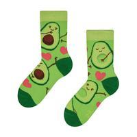 Dětské veselé ponožky DEDOLES avokádová láska31-34