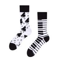 Veselé ponožky DEDOLES klavír 43-46