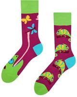 Veselé ponožky DEDOLES chameleon 39-42