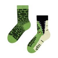 Dětské veselé ponožky DEDOLES krokodýl 31-34
