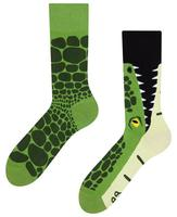 Veselé ponožky DEDOLES krokodýl 35-38