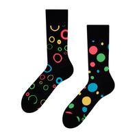 Veselé ponožky DEDOLES neonové tečky 35-38