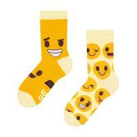 Dětské veselé ponožky DEDOLES smajlíky 27-30