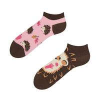 Kotníkové veselé ponožky DEDOLES ježek 35-38
