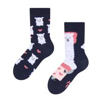 Dětské veselé ponožky DEDOLES spící lama 23-26