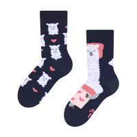 Dětské veselé ponožky DEDOLES spící lama 27-30