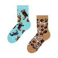 Dětské veselé ponožky DEDOLES jezevčík 27-30