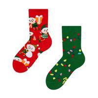 Dětské veselé ponožky DEDOLES elfové 31-34
