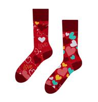 Veselé ponožky DEDOLES srdíčka 35-38