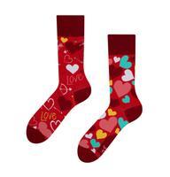 Veselé ponožky DEDOLES srdíčka 39-42