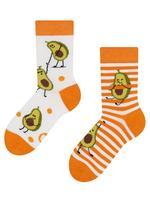 Dětské veselé ponožky DEDOLES vtipné avokádo 27-30