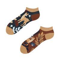 Kotníkové veselé ponožky DEDOLES srnka 35-38