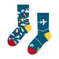 Dětské veselé ponožky DEDOLES letadla 27-30