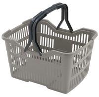 Plastový nákupní košík HEIDRUN 18l