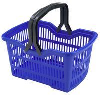 Plastový nákupní košík HEIDRUN 25l MIX barev