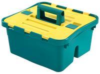 Plastový úložný box s víkem HEIDRUN Caddy 38x35x25cm
