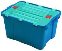 Plastový úložný box s víkem HEIDRUN Dragon 34l