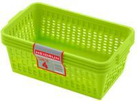 Plastový košík HEIDRUN 25x14,5x10,5cm 4ks