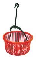 Plastový košík na kolíčky s háčkem HEIDRUN 19cm